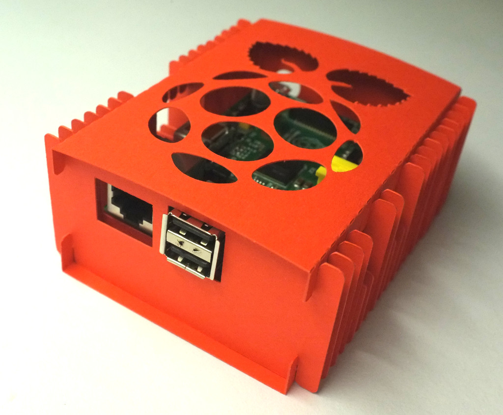 Yet Another Paper Case For Raspberry Pi